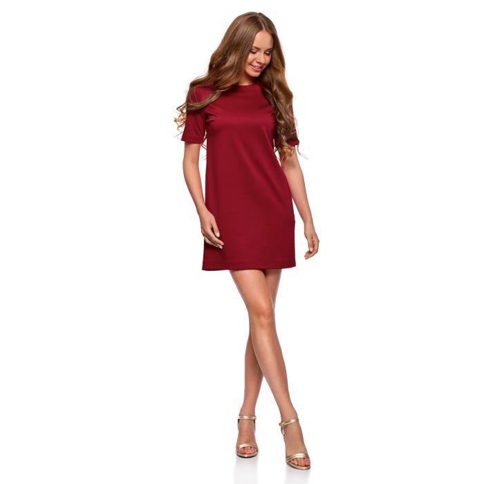 Jersey Straight Women Dress 2YNA6M Taille-32