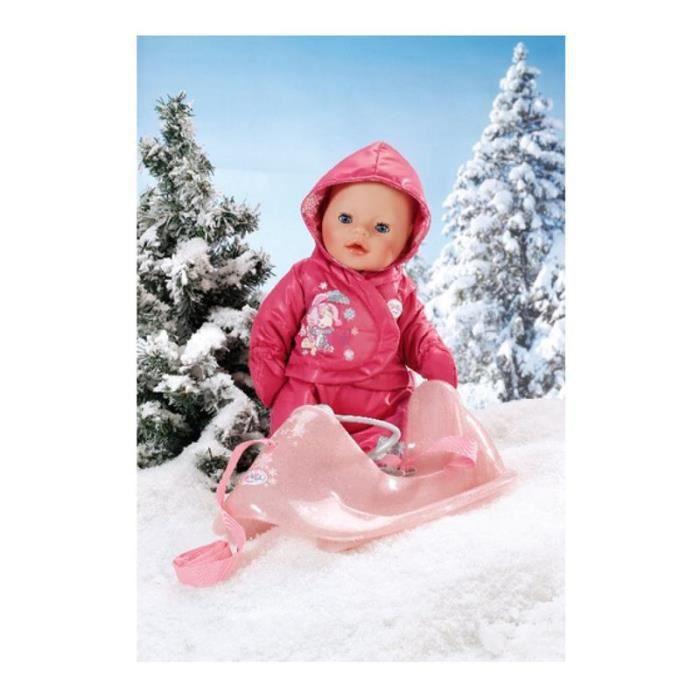 8318b6e79fb6c Zapf Creation 821701 BABY Born - Traîneau et vêtement d hiver. (sans ...