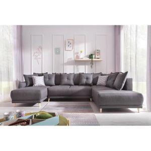 Canape d angle 7 places - Achat / Vente pas cher