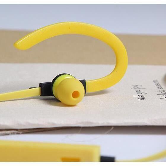 Jaune Caldecott Kdk55 Sport Sans Fil Bluetooth Écouteurs Casque Stéréo Avec Microphone Écouteur