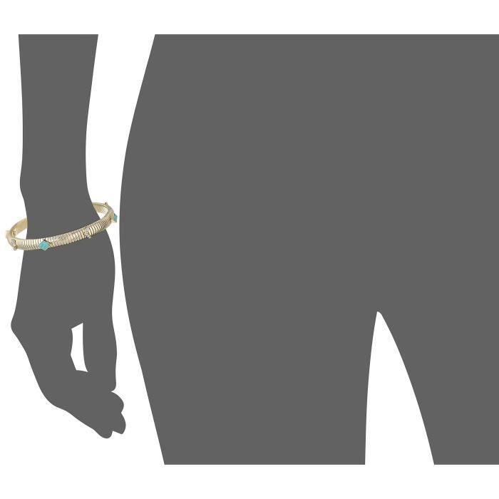 Stylist Gold Charm Bracelet Z1D2W