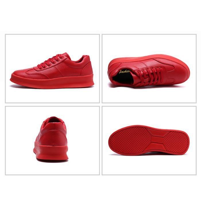 JOZSI Chaussure Homme Cuir Automne et Hiver Classique Chaussures de ville DTG-XZ186Noir