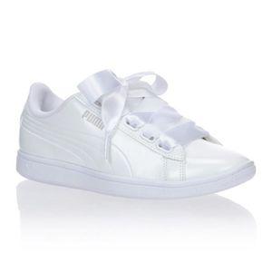 PUMA Baskets Vikky Ribbon P Femme Blanc femme Blanc