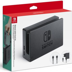 SUPPORT CONSOLE Ensemble station d'accueil Nintendo Switch