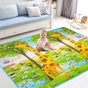 TAPIS DE SOL Tapis de jeu Bébé Enfant 200 x 180 x 0.6CM Tapis d