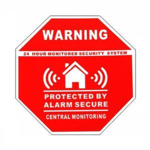 PIÈCES DÉTACHÉES ALARME Autocollant adhésif Maison sous surveillance vidéo