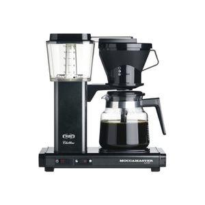 MACHINE À CAFÉ Moccamaster KBG 741 AO Cafetière 10 tasses noir