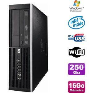 UNITÉ CENTRALE  PC HP Elite 6000 Pro SFF E5400 2.7Ghz 16Go Disque