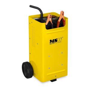 CHARGEUR DE BATTERIE Chargeur de batterie voiture Aide au démarrage MSW