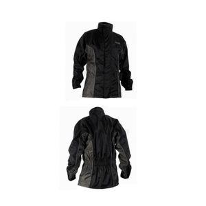 CASQUE MOTO SCOOTER Veste de pluie noir gris RC Taille M neuf moto sco
