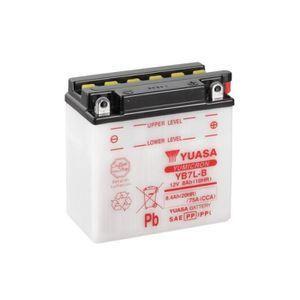 BATTERIE VÉHICULE Batterie YUASA YB7L-B conventionnelle