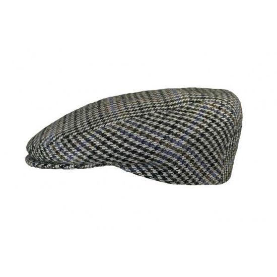le dernier mieux meilleures baskets Casquette Herman Headwear Pied de Poule Gris Gris - Achat ...