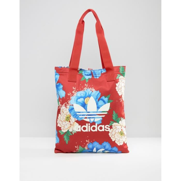 Femmes Ferme Originals Imprimé Adidas En Floral Sac Big Shopper rdtsxBQhC