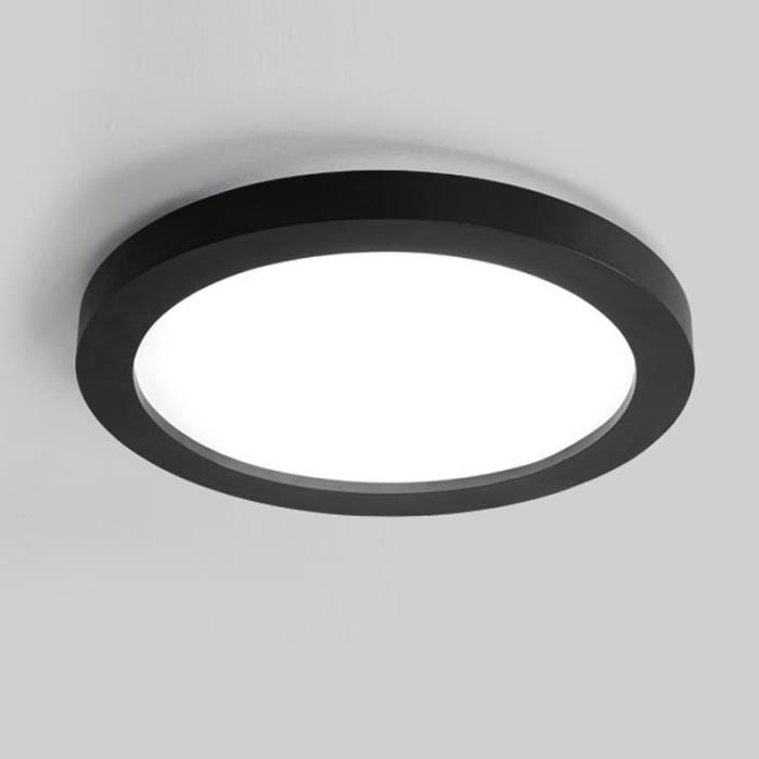 45cm noir plafonnier led rond lampe de plafond de Résultat Supérieur 15 Superbe Plafonnier Led Noir Image 2017 Shdy7