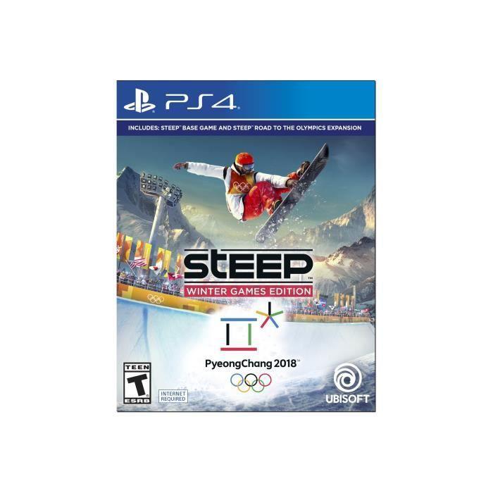 JEU PS4 Steep Édition Jeux d'Hiver PlayStation 4 anglais