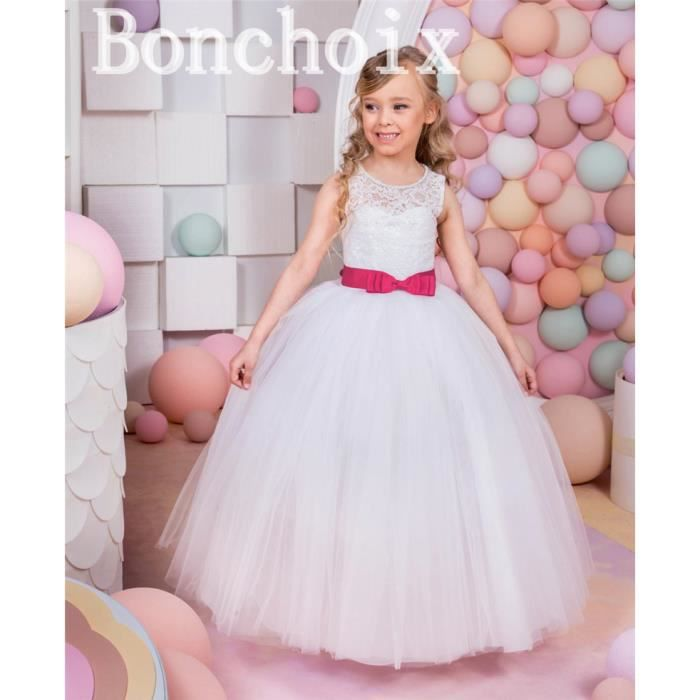 Robe mariage fille 7 ans