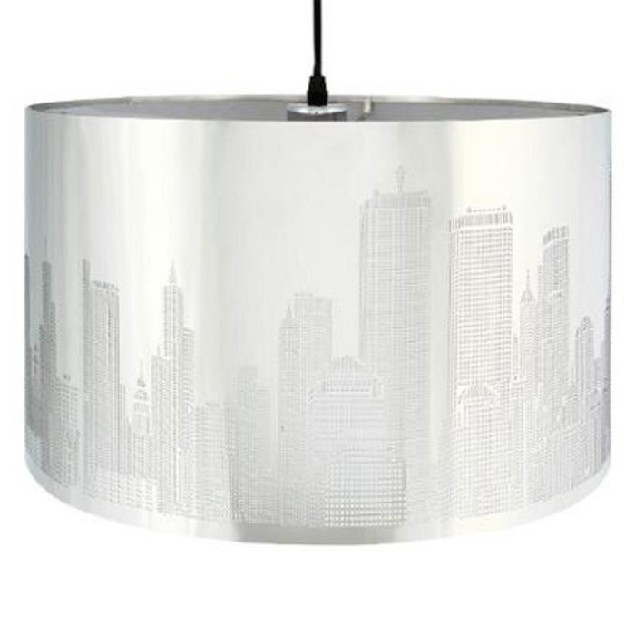 abat jour new york achat vente abat jour new york pas cher cdiscount. Black Bedroom Furniture Sets. Home Design Ideas