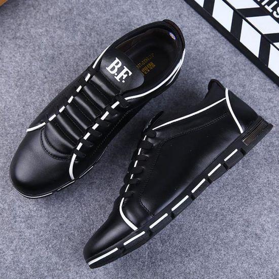 Basket hommes Chaussures de sport pour hommes Basket Chaussures de course légère Noir Noir - Achat / Vente basket 65618d