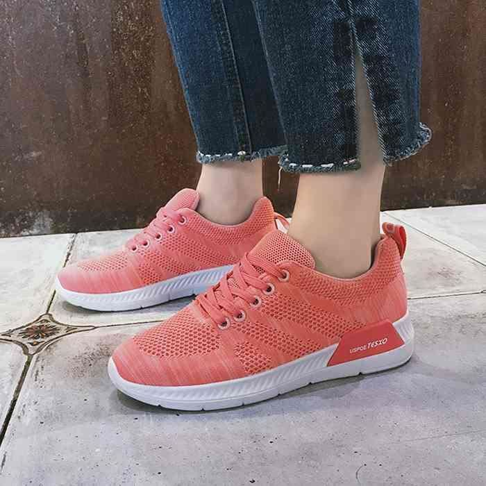 Shoes Chaussures Femme Runing Sneakers Basket Rose Women aXq4wPW84n