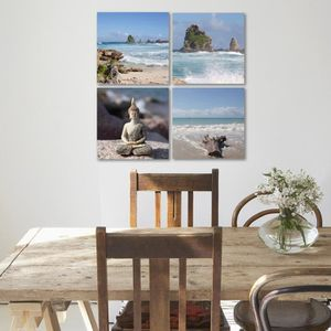 tableau deco paysage mer achat vente pas cher. Black Bedroom Furniture Sets. Home Design Ideas