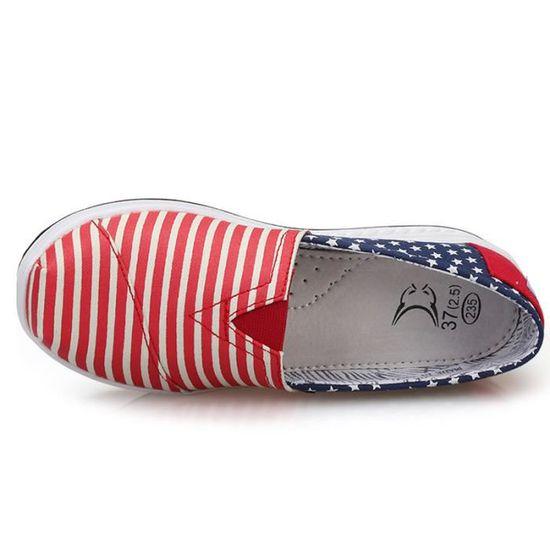 Femmes Chaussure Yst xz087rose38 Chaussures Detente épais Fond Mode Classique Y6gvb7fy