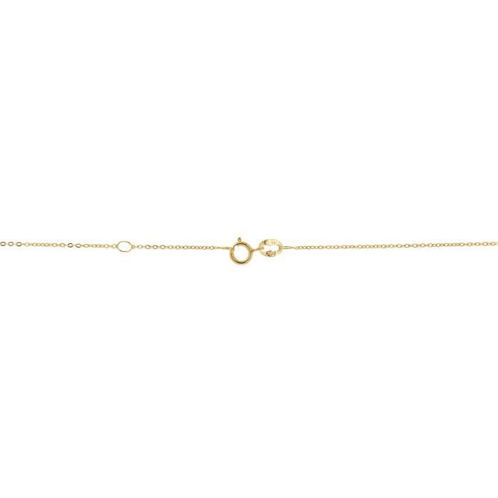 Collier CLEOR Or 375/1000 Topaze