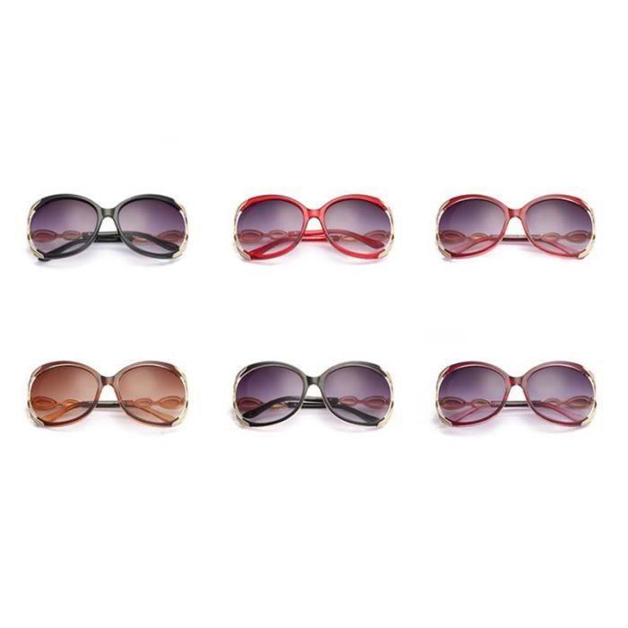 ... UV Lunettes de Soleil Carrées Lunettes Solaires Mode Vintage Aviator  Sunglasses Surdimensionné Verres Ronds Monture Noire bf6021350f8a