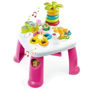 TABLE JOUET D'ACTIVITÉ SMOBY Cotoons Table d'activité Rose