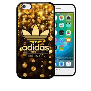 COQUE - BUMPER Coque iPhone 5C Adidas Original Pluie D'Or Gold Lu
