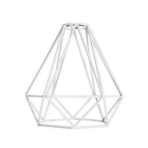 LUSTRE ET SUSPENSION LUSTRE Métal Diamant Vintage Pendentif Loft Plafon