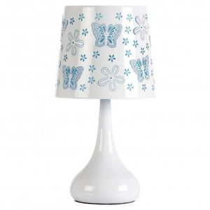 LAMPE A POSER Lampes a poser Lampe touch 40W papillons - Bleu