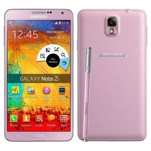 SMARTPHONE Rose pour Samsung Galaxy Note 3 N9005 16GB occasio