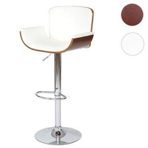 Bar Clair Blanc De Achat Miliboo Design Tabouret Et Walnut Bois A4RL5j