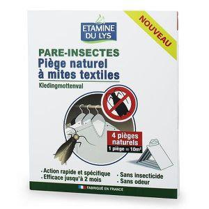 PIÈGE NUISIBLE MAISON Piège naturel à mites textiles, 4 pièges, dEtam…