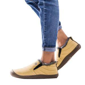 BOTTE oppapps163 Les femmes plus de velours Chaussures d