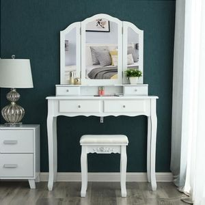 coiffeuse achat vente coiffeuse pas cher french days. Black Bedroom Furniture Sets. Home Design Ideas