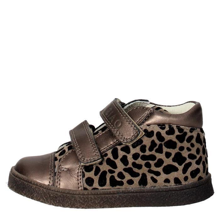 Ciao Bimbi Marron Bronze Vente Sneakers Achat Fille 23 Bronze rUqrw1F