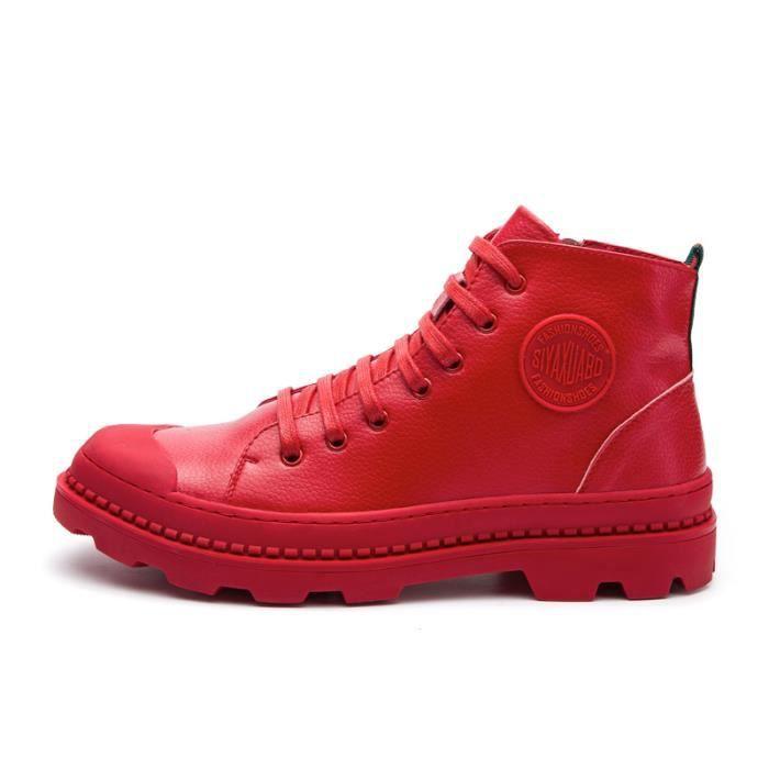 Chaussures homme Bottes courtes Bottes automne Chaussures étanches Bottes mode Chaussures montantes Chaussures confortablesBottes