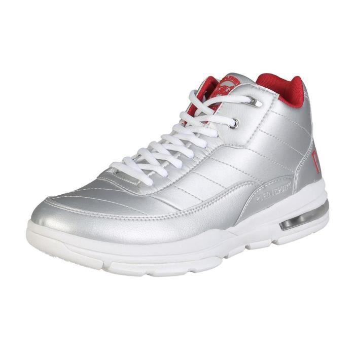 Plein Sport - Baskets / Sneakers montantes - Gris argent