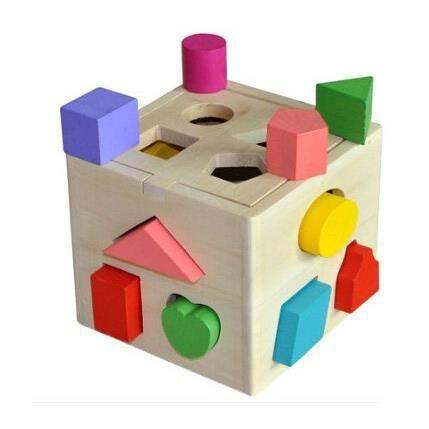 Puzzle Les En Bois Maison Numérique Jouet Enfants Pour wOnkP80