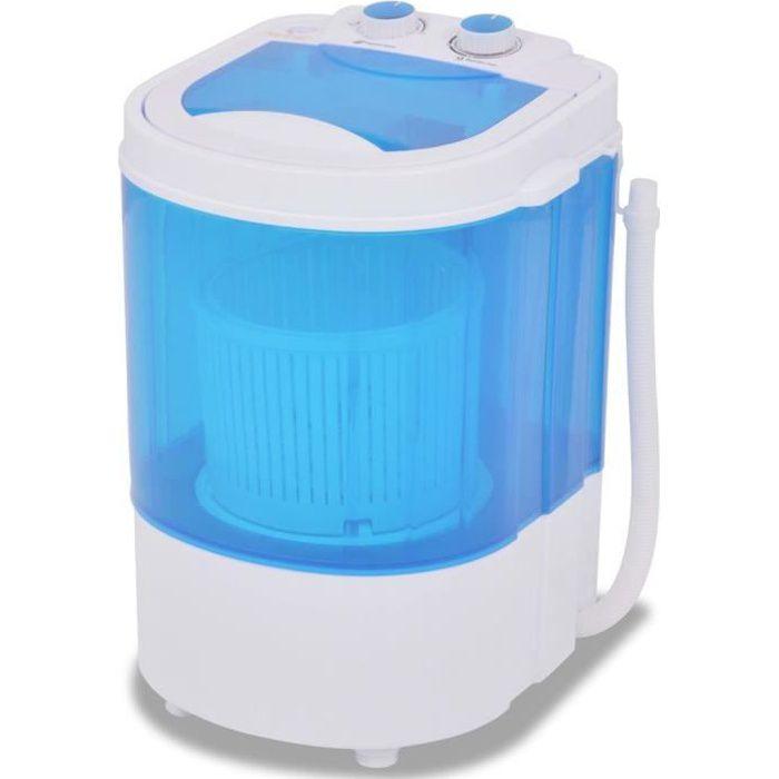 Mini Machine à Laver à Cuve Unique 26 Kg Lave Linge Compact