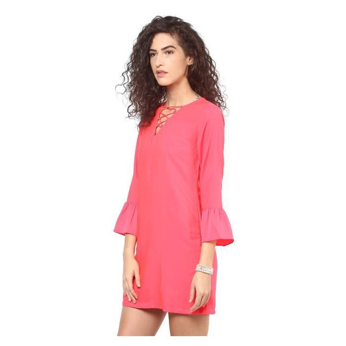 Robes polyester femmes - Ypmdres0236- $ p BSLBS Taille-38