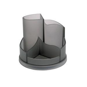 POT À CRAYON ALBA Multipot de rangement rotatif 5 compartiments