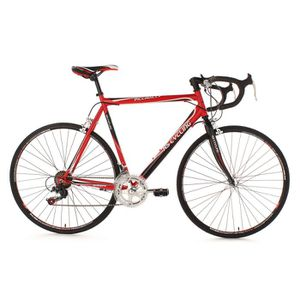 VÉLO DE COURSE - ROUTE Vélo de course Piccadilly rouge TC 59 cm