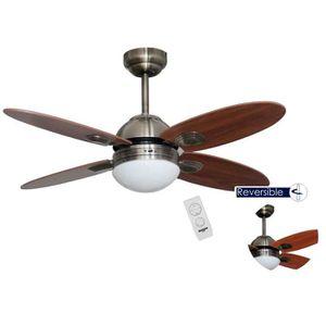 VENTILATEUR DE PLAFOND bastilipo Ventilateur de plafond avec télécommande