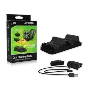 DOCK DE CHARGE MANETTE XBOX ONE Pack Batterie Rechargeable + Câble de Cha