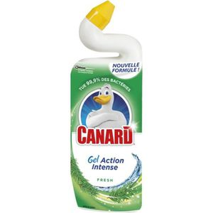 NETTOYAGE WC Nettoyant WC Canard WC Gel Action Intense - 750 ml