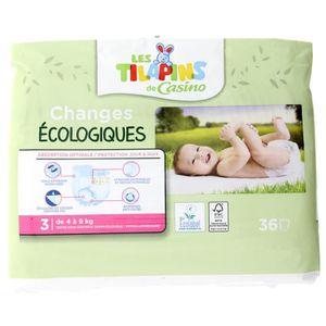 COUCHE Les Tilapins couches écologiques T3x36 couches