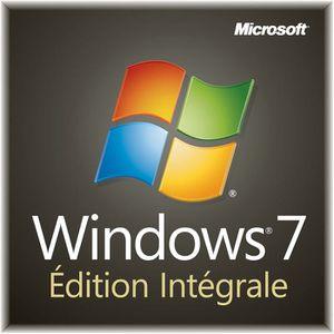 SYSTÈME D'EXPLOITATION Windows 7 Edition Intégrale 32 bits OEM