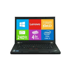 ORDINATEUR PORTABLE Ordinateur portable 15 pouces Lenovo Thinkpad T530
